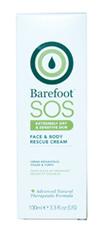 Barefoot rescue cream